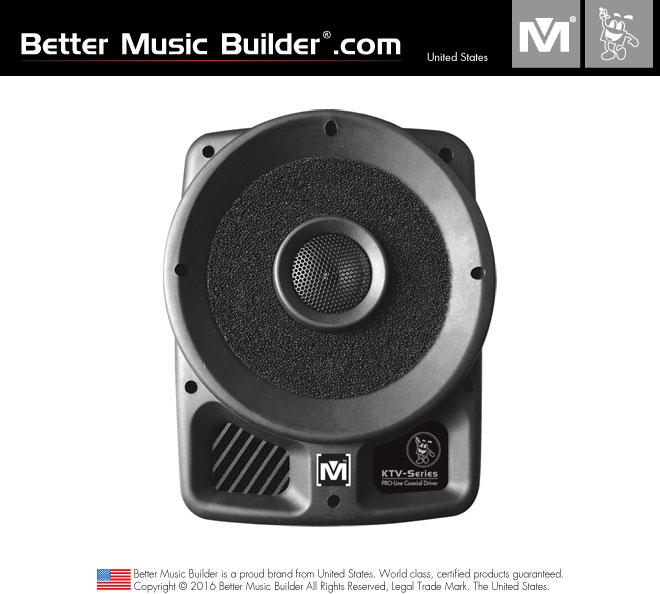 Better Music Builder (M) PS-310 2-way full range Passive / Non-Powered Coaxial Speaker