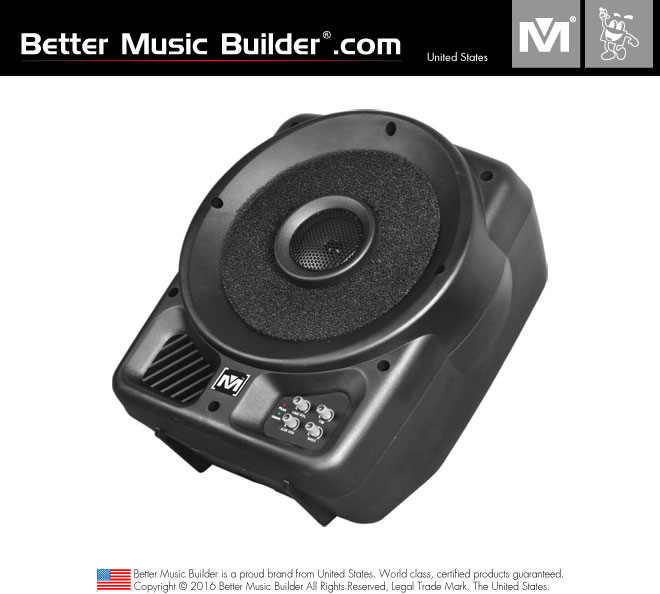Better Music Builder (M) PS-310A 2-way full range Active / Powered Coaxial Speaker