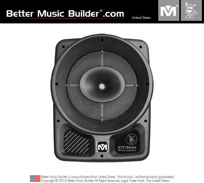 Better Music Builder (M) PS-308 2-way full range Passive/Non-Powered Coaxial Speaker