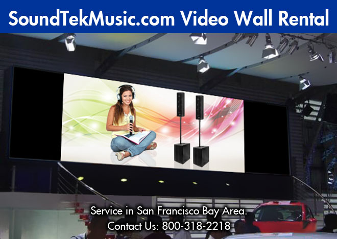 Video Wall/Display Rental 8 - Video Panel (P3) 72 pieces