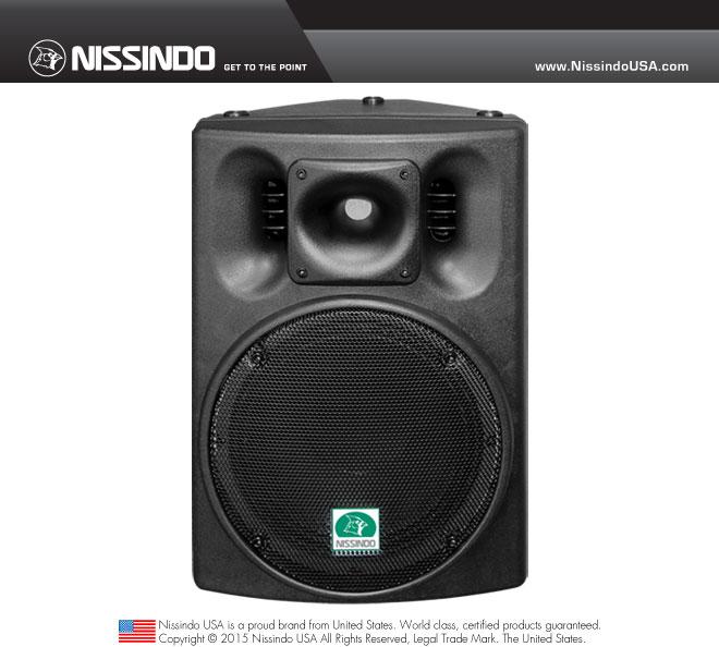 Nissindo WS-310 Karaoke Speaker System (Each)