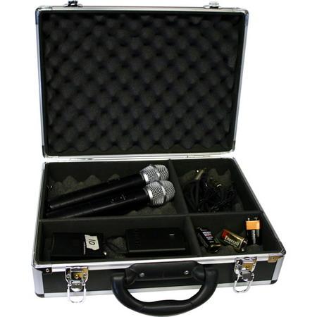 Nissindo T-002 Portable DJ/KJ Tool Case - OPEN BOX (Good Deal)
