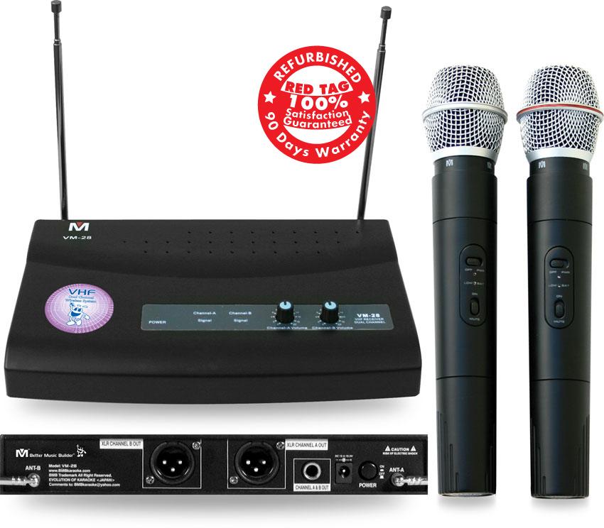 Better Music Builder (M) VM-28 Dual Channel Wireless - Refurbished