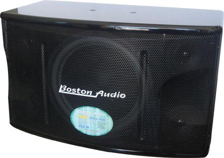 Boston Audio BASS-888 Pro 450 Watts Karaoke Vocal Speaker Systems (Pair)