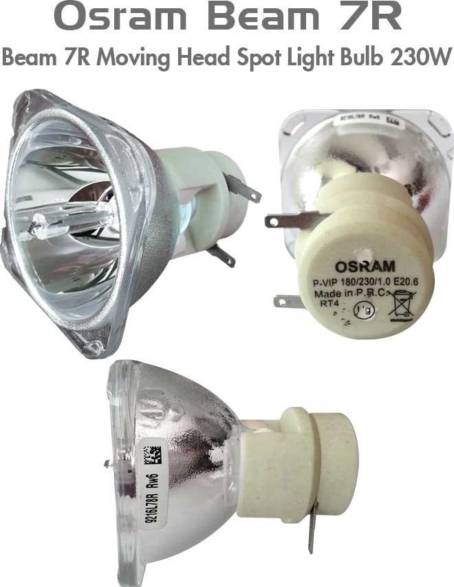 OSRAM Beam 7R Moving Head Spot Light Bulb 230W