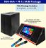Jinge K80-66A KOD Karaoke System and Better Music Builder M-12 SUB Package