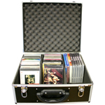 Nissindo D-001 Road Ready CD Case Holds 60 CDs In Jewel