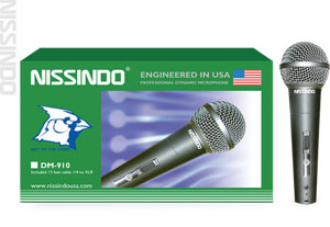 Nissindo DM-910 Wired Vocal Microphone with Cable