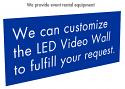 LED Video Wall / Screen Rental Options