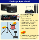 Package 01 - Better Music Builder Complete Karaoke System